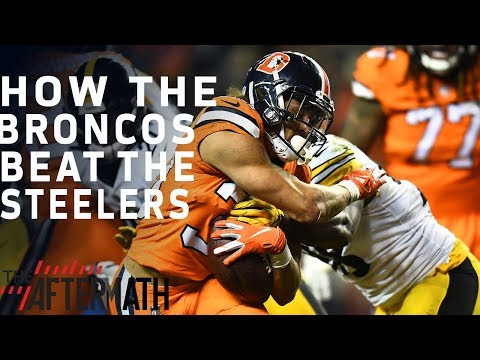 How the Broncos Defeated the Steelers | The Aftermath | NFL Network