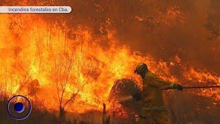Incendios forestales en Cba