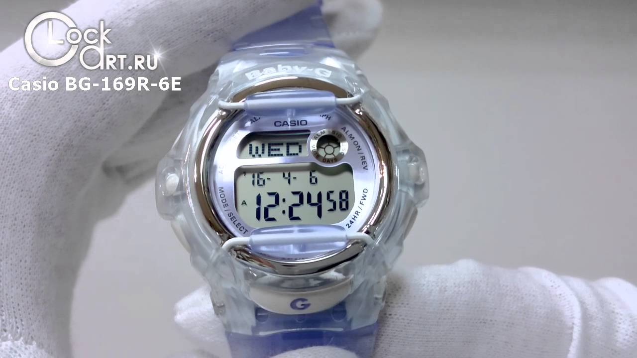 Mail unboxing - Casio BA-110GB Gold Black Baby-G watch review .