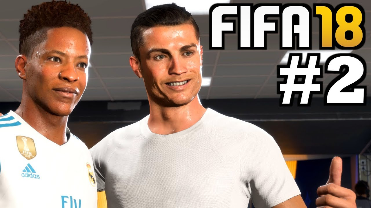 trikottausch mit ronaldo fifa 18 the journey deutsch 2. Black Bedroom Furniture Sets. Home Design Ideas