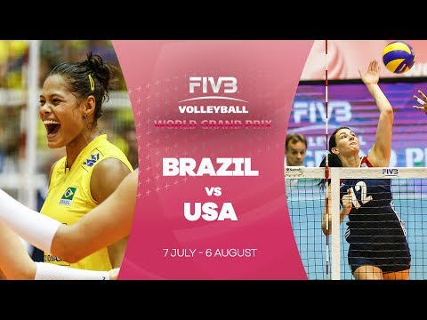 Brazil v USA highlights - FIVB World Grand Prix