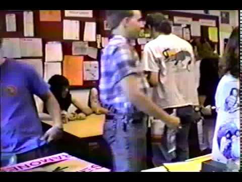 Ramones In Store at Record Exchange Raleigh, NC 5 6 90