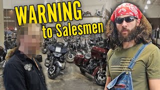 "I went UNDERCOVER to buy my ""FIRST"" motorcycle"