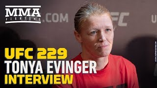 UFC 229: Tonya Evinger Details Breaking Her Leg 'In Half,' Firing Coach Because of It - MMA Fighting