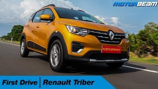 Renault Triber First Look Review - Impressive? | MotorBeam