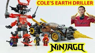 Lắp Ráp Lego Ninjago Xe Mũi Khoan Chiến Đấu Của Cole Của Hãng Lepin Toy Channel