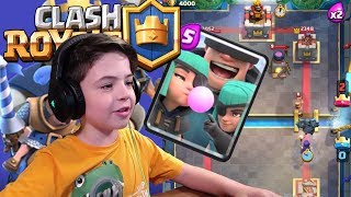 RASCALS NEW CARD - 1V1 BATTLE IN ARENA