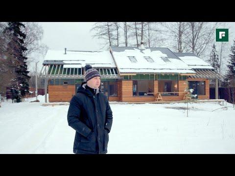 Каркасный дом со вторым светом в стиле ЛОФТ. Стройка // FORUMHOUSE