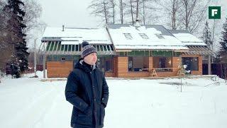 видео Бревенчатый дом в стиле шале: особенности интерьера, советы по обустройству