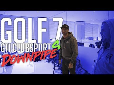 JP Performance – VW Golf 7 GTI Clubsport S | Downpipe