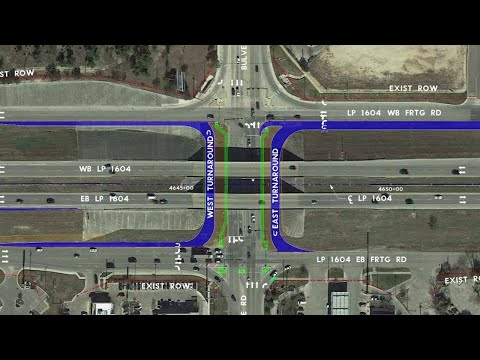 Video: Plans to fix traffic nightmare at Loop 1604, Bulverde Road move forward