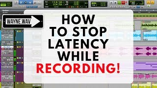 How to Stop Latency While Recording in Pro Tools | Echo or Delay in Headphones