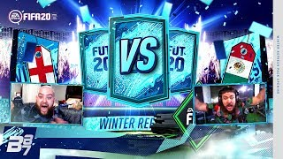 WINTER REFRESH PACKED! PACK CHALLENGE VS CASTRO1021! | FIFA 20 ULTIMATE TEAM