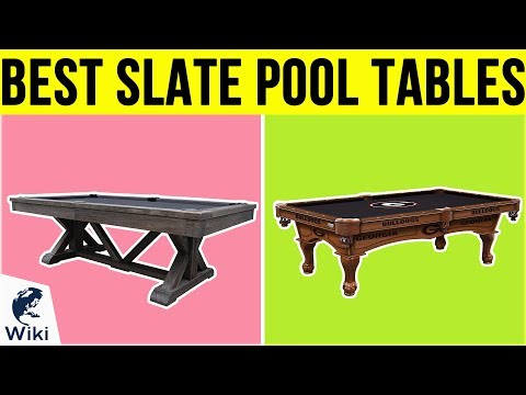 8 Best Slate Pool Tables 2019
