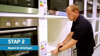 Wat moet ik doen als mijn inbouw oven vervangen moet worden?