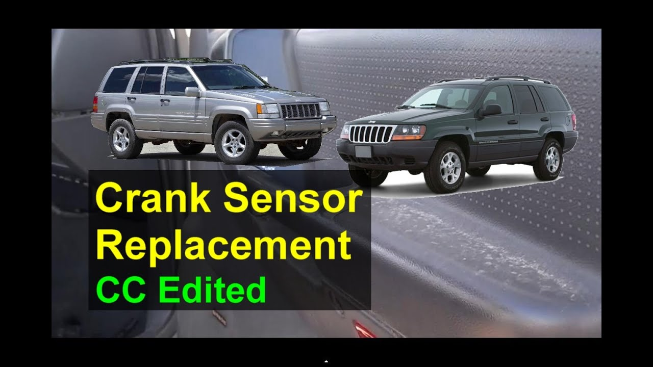 Jeep Crank Sensor Replacement, P Codes P0351, P1391, P1494  Auto Repair Series  YouTube