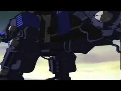 Zoids Chaotic Century Van VS Raven