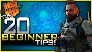 Top 20 Blackout Beginner Tips! (How to get Better at Blackout Battle Royale)