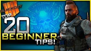 Top 20 Blackout Beginner Tips! (How to get Better at Blackout Battle Royale)