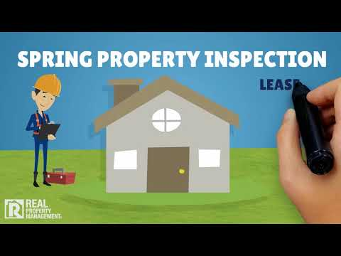 REAL PROPERTY MANAGEMENT SOUTHERN CT   SPRING MAINTENANCE REMINDERS FOR OWNERS