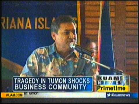 Tragedy in Tumon shocks island business community