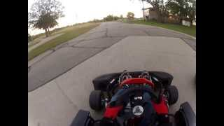 2013 Nissan Go Karts Feature Race