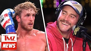 Logan Paul Says He'd Destroy CM Punk, Open To Dillon Danis Boxing Match | TMZ NEWSROOM TODAY