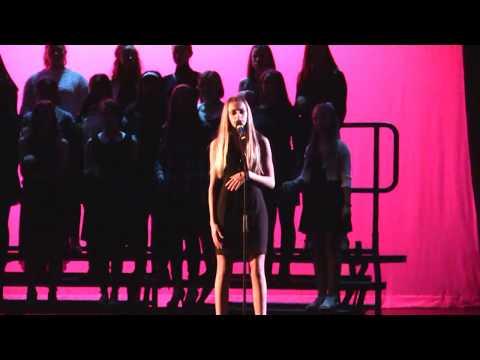 Alessia Cara  Scars To Your Beautiful  ActonBoxborough High School Cabaret night 2017 La Capella