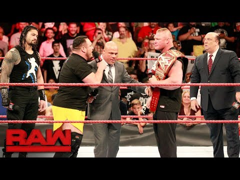 Who will challenge Brock Lesnar at SummerSlam?: Raw, July 10, 2017