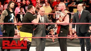 Raw General Manager Kurt Angle reveals how Brock Lesnar's Universal Championship challenger at SummerSlam will be determined. #RAW More ACTION on ...
