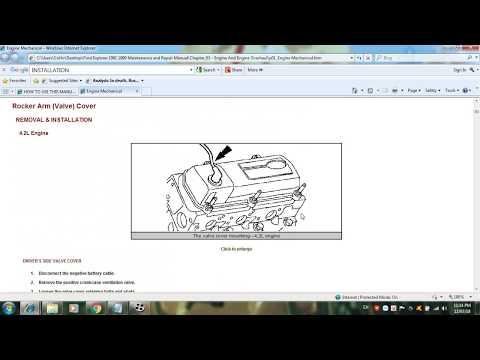 Ford Explorer 1991 1999 Maintenance and Repair Manual