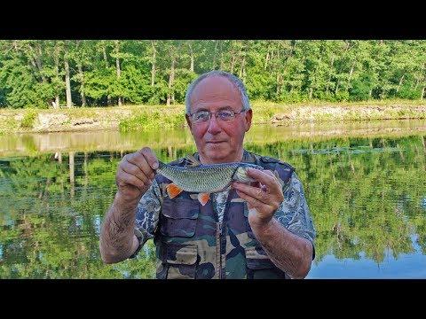 рыбалка на течении река поплавочная удочка видео