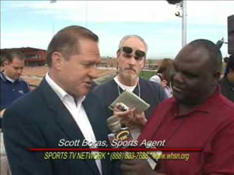 SCOTT BORAS, SPORTS AGENT & COACH MAYDEN