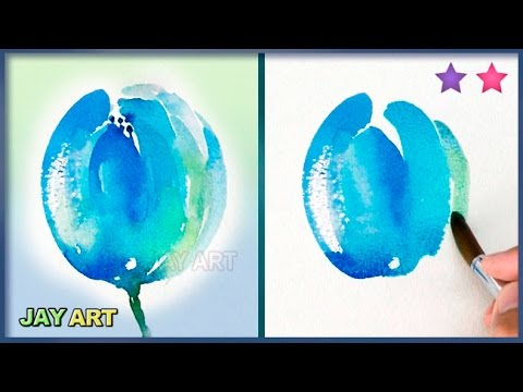 How To Paint A Tulip Fast And Simple