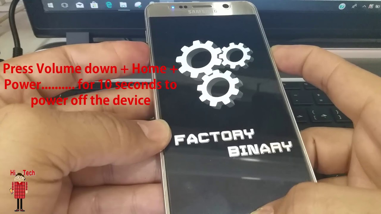 The Way to Downgrade All Galaxy Devices from android 7 0 to 6 0 1 on Note 5