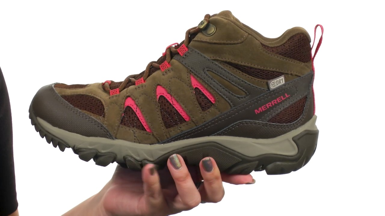 Merrell Outmost Mid Vent Waterproof SKU