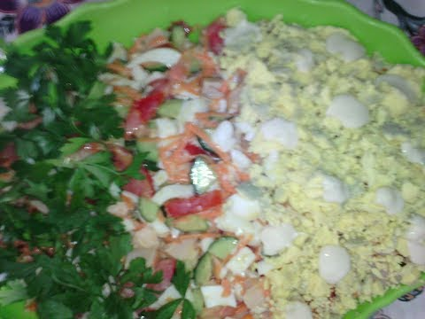 Праздничный салат за 5 минут из копченой курицы.НУ ОЧЕНЬ ВКУСНО