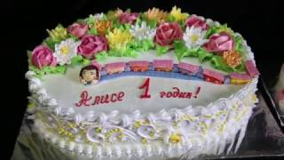 пара тортов на 1 годик | торт на заказ