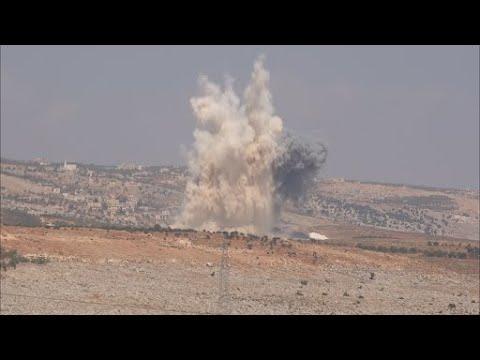 أخبار حصرية - صواريخ بالستية وغارات جوية روسية تستهدف ريف #إدلب  - نشر قبل 57 دقيقة