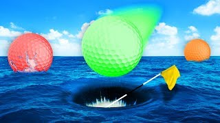 THE WETTEST GOLF COURSE EVER!? (Golf It)