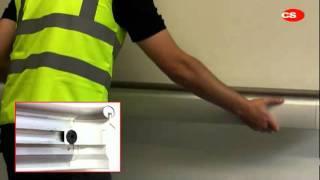 видео пластиковые отбойники для стен