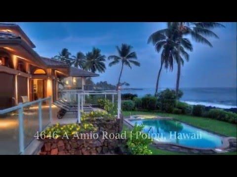 4646-A Amio Road Oceanfront Home for Sale at Kukuiula Harbor Poipu Kauai