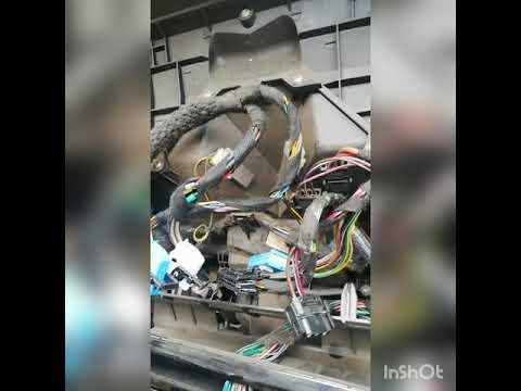 Замена моторчика печки BMW x5 e 53