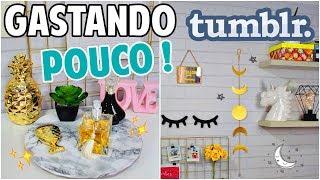 DIY: DECORAÇÃO DE QUARTO GASTANDO MUITO POUCO