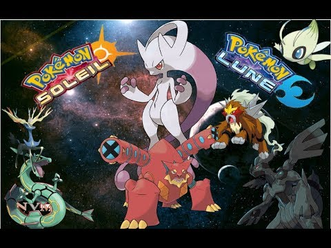 Tuto pokemon soleil lune comment trouver tout les pokemon legendaire shiny level 100 part20 - Pokemon legendaire platine ...
