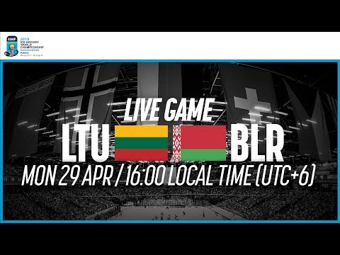 Lithuania Vs. Belarus | Full Game | 2019 IIHF Ice Hockey World Championship Division I Group A