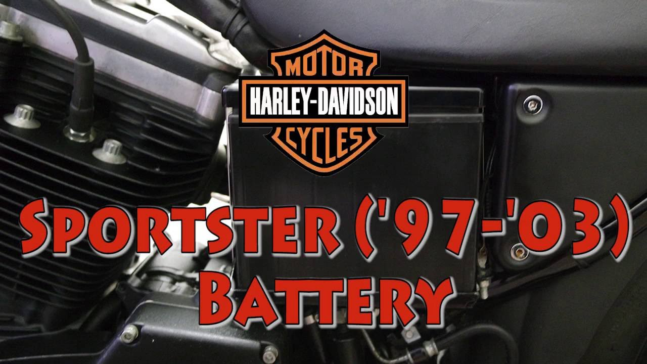 How To Replace Harley Davidson Sportster 97 03 Battery Youtube 2001 Fuse Box