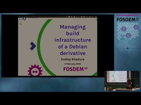 Managing build infrastructure of a Debian derivative