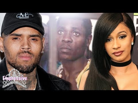 Chris Brown and Cardi B speak out against slavery in Libya | FULL BACKSTORY