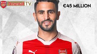 Riyad Mahrez Welcome to Arsenal | 45 Million January Buy | Official Skills And Goals | ARSENAL TV HD